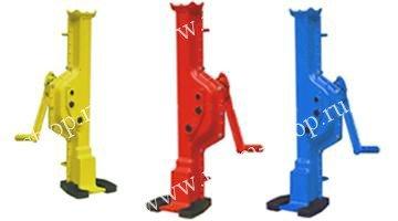 Домкраты реечные модели SWL с низким подхватом